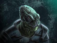 Alien created by Javi García. You can watch the creation process https://www.youtube.com/watch?v=wL-OK7mfksM I hope you like it