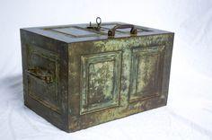 Antiques Atlas - Georgian Period Coalbrookdale Strong Box