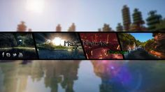 Banner for my channel ! Minecraft theme