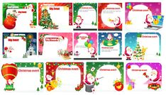 Christmas Cards Vecor Pack EPS AI | Read full article: http://webneel.com/freedownload/christmas-cards-vecor-pack-eps-ai | more http://webneel.com/webneel/blog/50-christmas-themed-vectorpng-resources-your-greeting-cards | Follow us www.pinterest.com/webneel