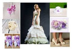 """""""Ivory and lilac wedding"""" by black-passion ❤ liked on Polyvore featuring Sola"""