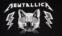 TopatoCo: Mewtallica Tee Shirt $18.25