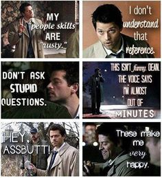 Castiel is one of my all-time favorite characters!