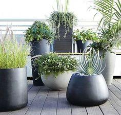 Planter modernas para tornar a sua Ar Livre Elegante