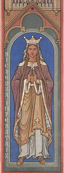 Richenza of Northeim (c. 1087/1089 – 10 June 1141) was a member of the dynasty of the Counts of Northeim. She was Duchess of Saxony (from 1106), Queen of Germany (from 1125) and Holy Roman Empress (from 1133).