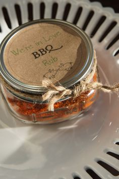 Wedding Favors  So In Love BBQ Rub by mrandmrsfavors on Etsy, $4.00