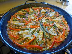 Foods For Long Life: Roasted Vegetable Paella - Perfect For Christmas Dinner! Vegan and Gluten Free