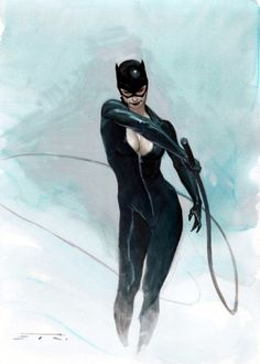 """""""Catwoman by Esad Ribic """""""