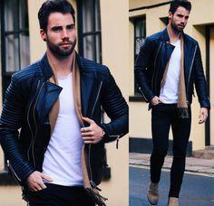 "@chezrust on Instagram - ""The Rider by @bodaskins // I most definitely have a leather jacket addiction  #BodaSkins"""