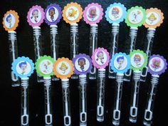 Bubble Guppies party favors bubbles and wand by SassyCreationz, $10.00