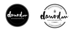 Brand development for Danodan Grassworks in Portland, Oregon.
