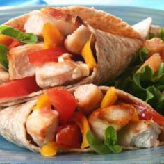 Wraps vegetarisch @ allrecipes.nl