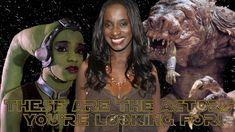 Oola Talks Filming Return of The Jedi & Returning to Star Wars! (Femi Ta...