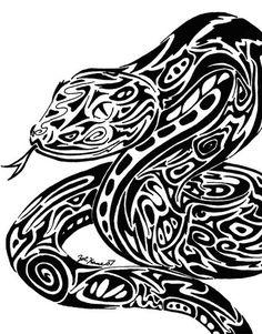 tribal_serpent_by_summonerwolf.jpg (400×511)