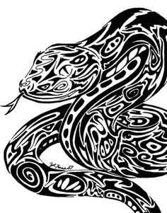 tribal_serpent_by_summonerwolf.jpg (400×511)