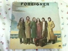 Foreigner - self-titled 1977 Atlantic Records - Lou Gramm - Vintage Vinyl Record Lou Gramm, Atlantic Records, Vintage Vinyl Records, Self