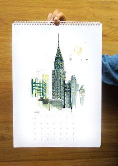 Sarah Hankinson 2014 Calendar - $40.00