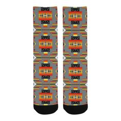Seven Tribes Gray Trouser Socks