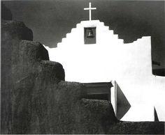 Church of San Lorenzo, Picuris, New Mexico // © Laura Gilpin