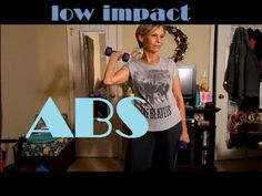Low Impact Abs Workout 8