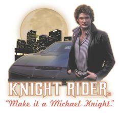 Knight Rider Full Moon Men's Ringer T-Shirt Man On The Moon, Full Moon, Gotham, Favorite Tv Shows, Knight, Family Guy, Movie Posters, T Shirt, David