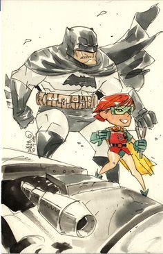 The Dark Knight Returns by Dustin Nguyen
