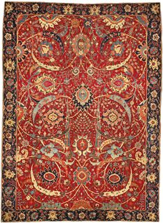 At $33.7 million this is the most expensive rug ever sold! #rugs #sothebys #antique