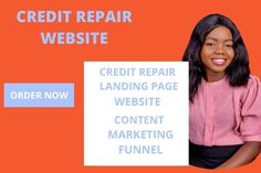 I will create credit repair website and automated marketing funnel – FiverrBox Slider Images, Data Entry, Lead Generation, Content Marketing, Promotion, Website, Create, Data Feed, Inbound Marketing
