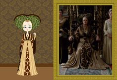 Cecily Neville, from The White Queen tv show. c. 1471