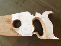 Making a Saw Handle