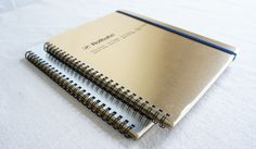 Rollbahn Metallic Notebooks
