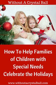 Christmas help for families with special needs.