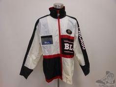 Vtg Pro Player Chicago Bulls Light Zip Up Windbreaker Jacket sz L Large Jordan  #ProPlayer #ChicagoBulls #tcpkickz