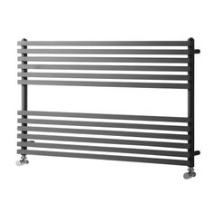 Buy Heatwave Oxfordshire Horizontal Heated Towel Rail H x W - Anthracite today. Heatwave Part No: Free UK delivery in approx 2 working days. Small Shower Room, Small Showers, Towel Heater, Horizontal Designer Radiators, Bathroom Radiators, Towel Radiator, Curved Walls, Towel Warmer, Heated Towel Rail