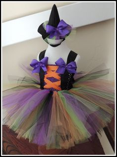Witch tutu Costume tutu costume by Gurliglam on Etsy, $45.00