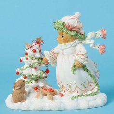 Cherished Teddies Joy - Natural Winter Beauty 4040467 NIB