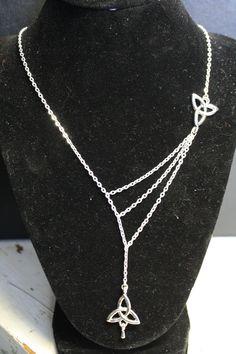 Unique Triquetra Celtic Necklace