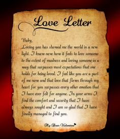 Lovingyou encouragement letter
