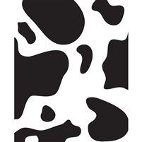 Cow Spots Printed Backdrop
