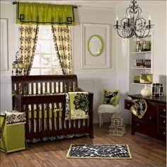 Baby Room Design For Boys : Baby Room Design Ideas. Baby Room Design For Boys. home-ideas Modern Baby Bedding, Baby Crib Bedding Sets, Crib Sets, Nursery Bedding, Nursery Room, Girl Nursery, Girl Room, Damask Nursery, Girl Bedding