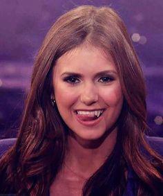 Nina's sexy vampire face