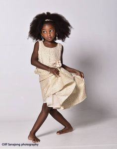 Cherelice, A Stunning 7-Year-Old Model From Suriname, has Gone Viral