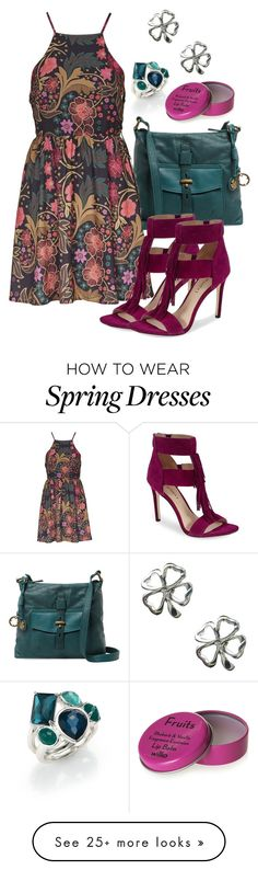 """""""spring...?"""" by deliag on Polyvore featuring Ippolita, Lucky Brand, Topshop and Via Spiga"""
