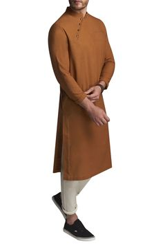 Buy Structured Kurta With Pyjamas by Suta & Co Men at Aza Fashions is part of Kurta style - Shop Suta & Co Men Structured Kurta With Pyjamas , Exclusive Indian Designer Latest Collections Available at Aza Fashions Mens Indian Wear, Mens Ethnic Wear, Indian Men Fashion, Mens Fashion, Fashion Menswear, African Fashion, Kurta Pajama Men, Kurta Men, African Wear Styles For Men