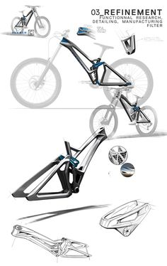 Bike designs by Cero