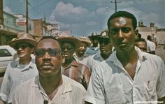 Martin Luther King and Stokeley Carmichael civil rights heroes and activists