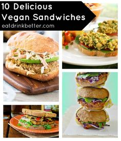 10 Delicious Vegan Sandwiches for Back to School #meatlessmonday