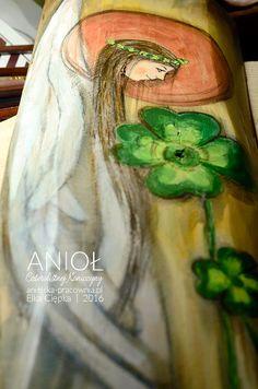 Anioł Czterolistnej Koniczyny - Anioł przynoszący szczęście