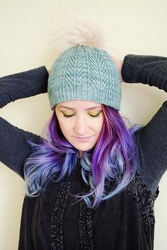 Ravelry: Pinyon Pine Beanie pattern by Sheila Toy Stromberg | Anzula For Better or Worsted