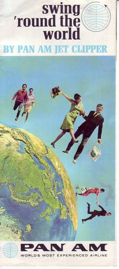 1960s Swing Round the World brochure cover